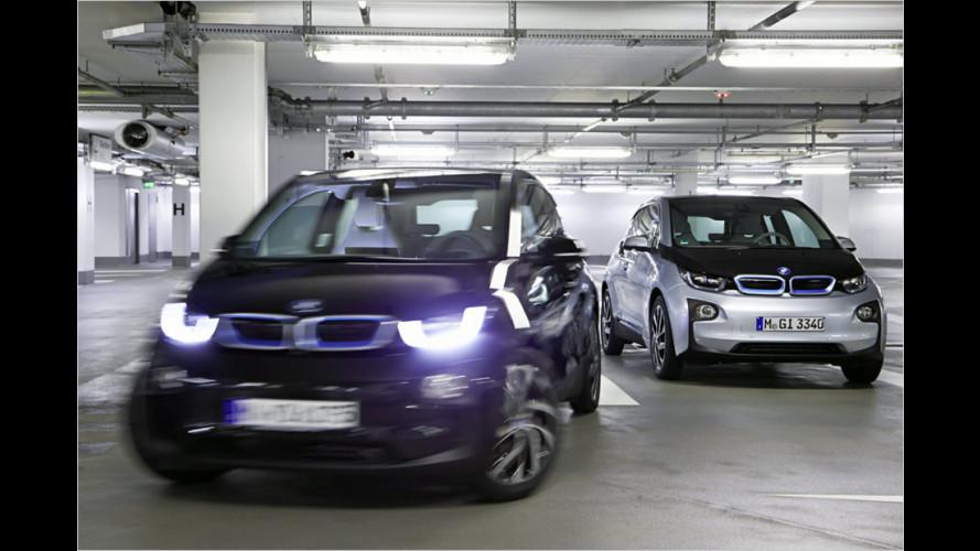 BMW zeigt automatisiertes Parken im Parkhaus auf der CES 2015