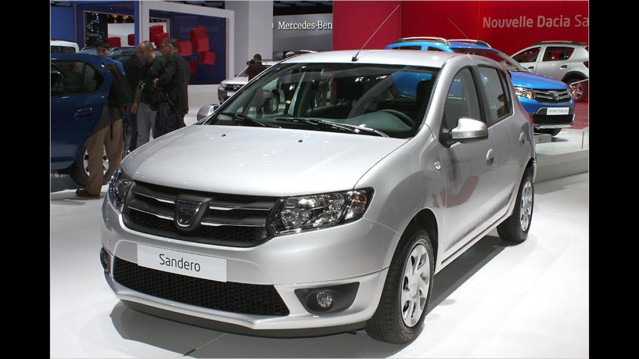 Paris 2012: Neuer Dacia Sandero im Erstkontakt
