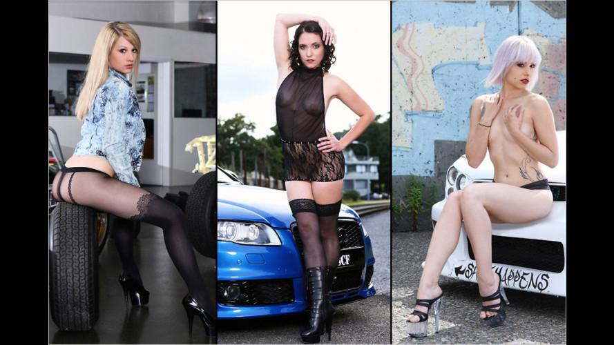 Werkstatt-Kalender 2015: Hammer-Mädels aus der Schweiz
