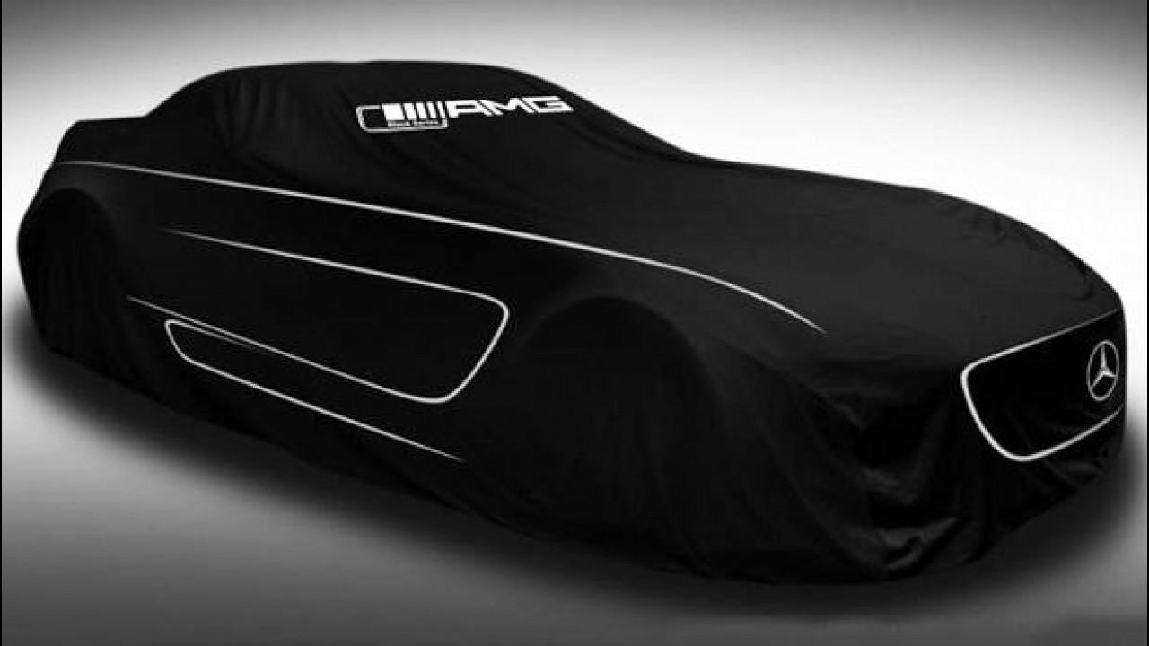 [Copertina] - Mercedes SLS AMG Black Series: oggi il debutto