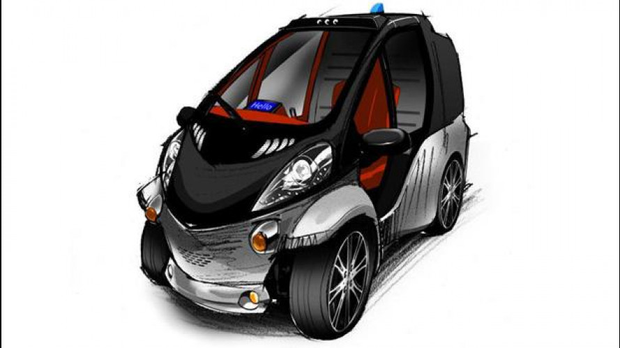 Toyota Smart INSECT, la concept connessa
