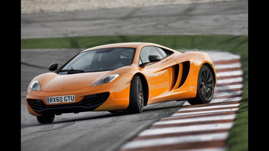 La McLaren MP4-12C è la