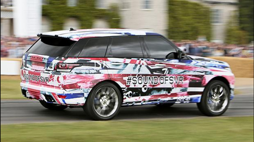 Range Rover Sport SVR: il ruggito a Goodwood [VIDEO]