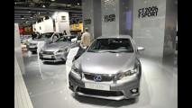 Lexus al Salone di Parigi 2012