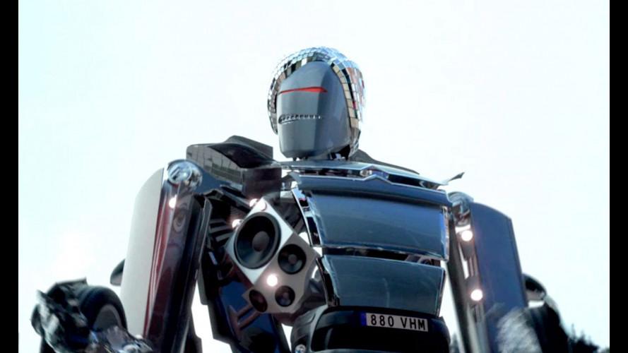 Il Robot della Citroen C4 sbarca a New York