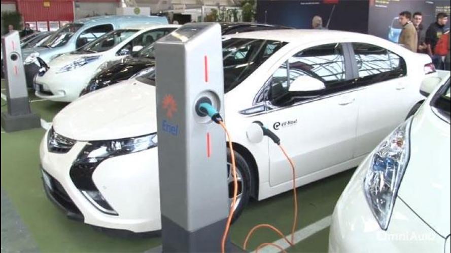 Auto elettrica, a che punto è la rete di ricarica in Italia