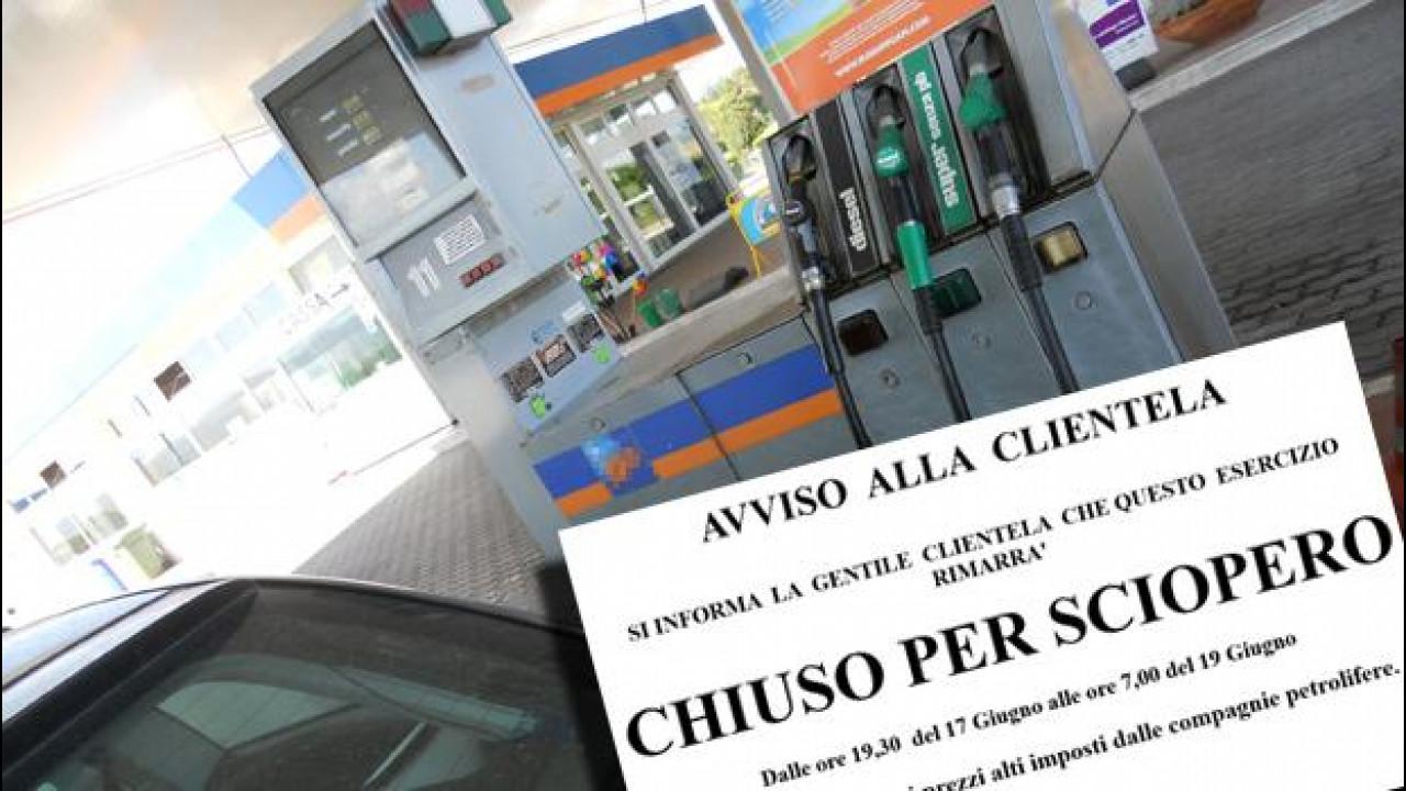 [Copertina] - Sciopero benzinai: orari, date e tutte le info