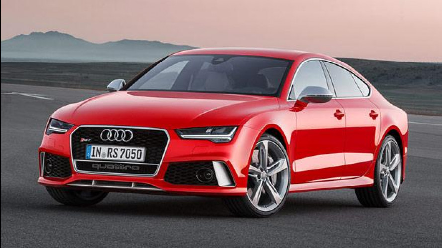 Audi RS 7 Sportback, restyling con grinta
