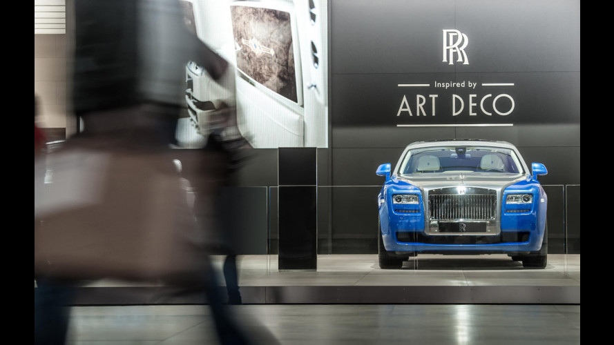 Rolls-Royce Ghost, Phantom e Phantom Drophead Coupé Art Deco
