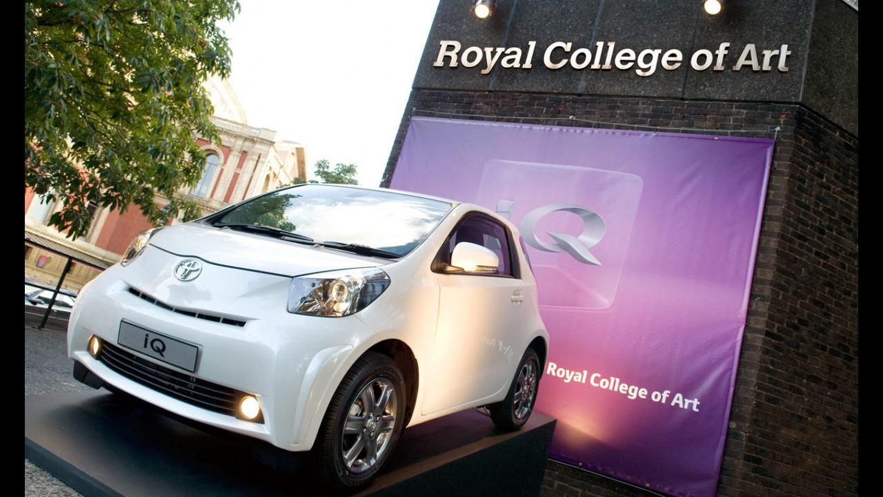 Toyota IQ al Royal College of Art di Londra
