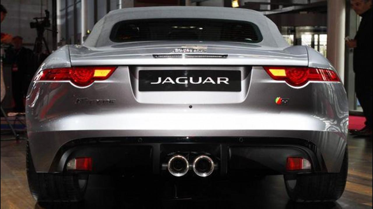 [Copertina] - La marmitta della Jaguar F-Type è italiana