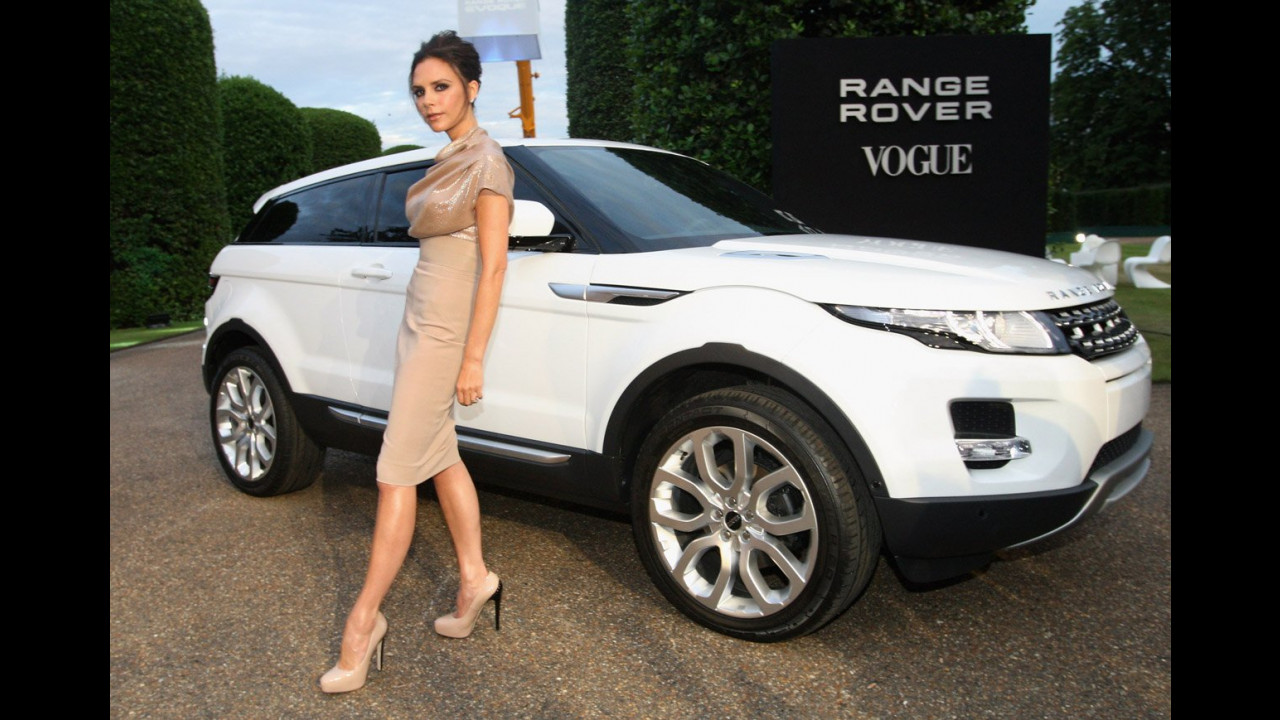 I VIP al gala per la Range Rover Evoque