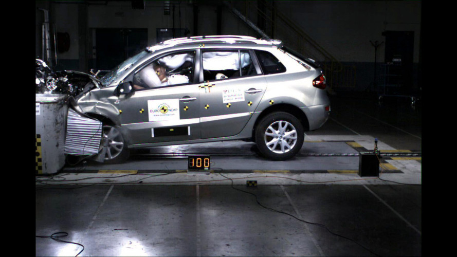 Crash Test Renault Koleos