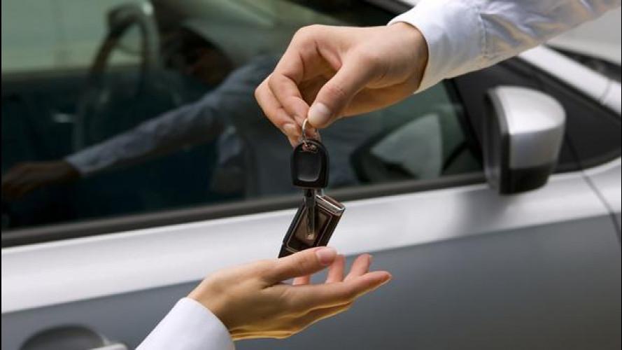 Noleggio e car sharing: è vuoto al Sud