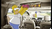 Renault Kangoo e i Simpson