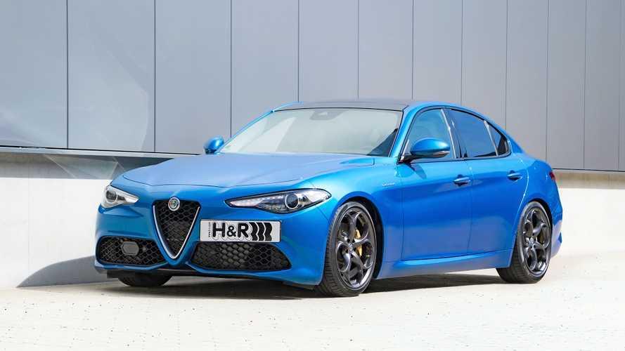 H&R Sportfedern für Alfa Romeo Giulia Veloce