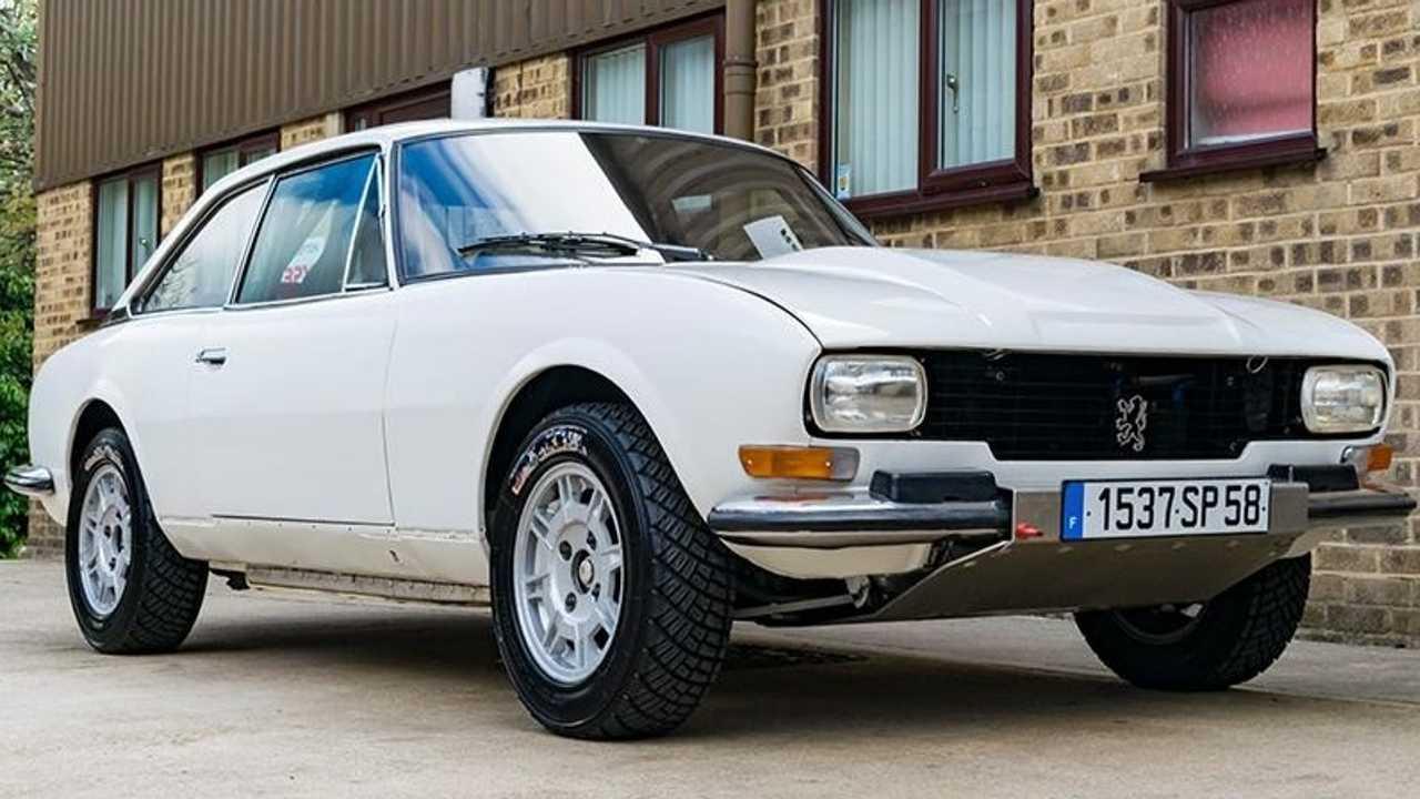 Peugeot 504 V6 Coupe 1977