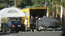 Mercedes SLC Test Mule Spied in the Desert
