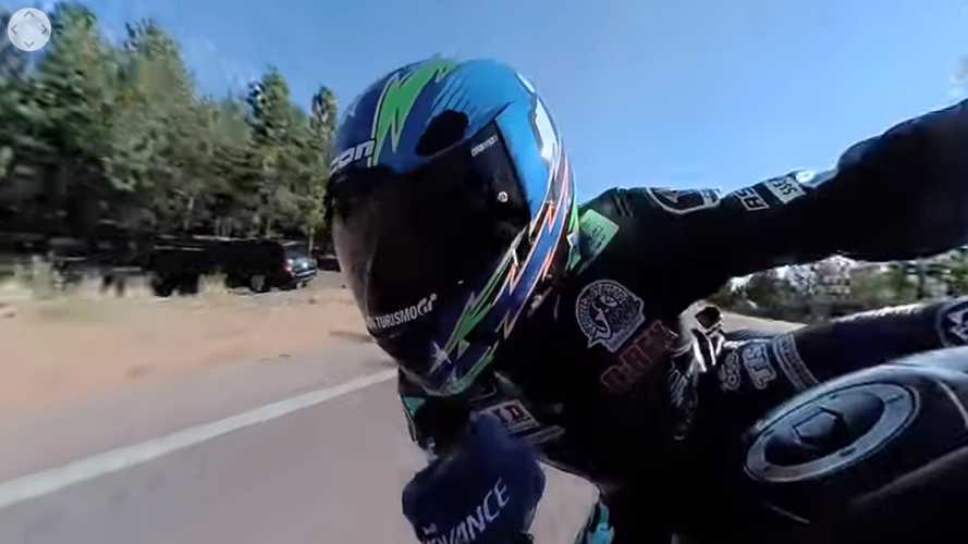 Watch This Ride Up Pikes Peak In 360 Degrees