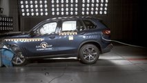 BMW X5 Euro NCAP crash test