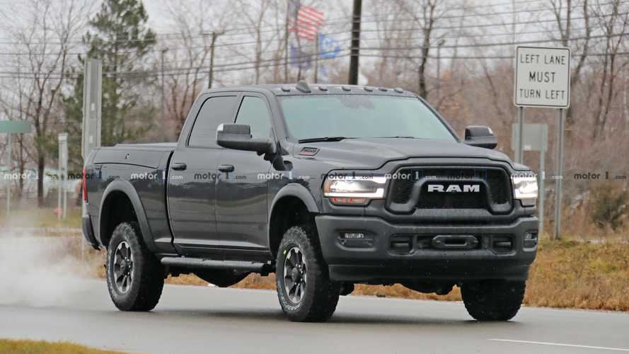 Ram Power Wagon Spy Shots