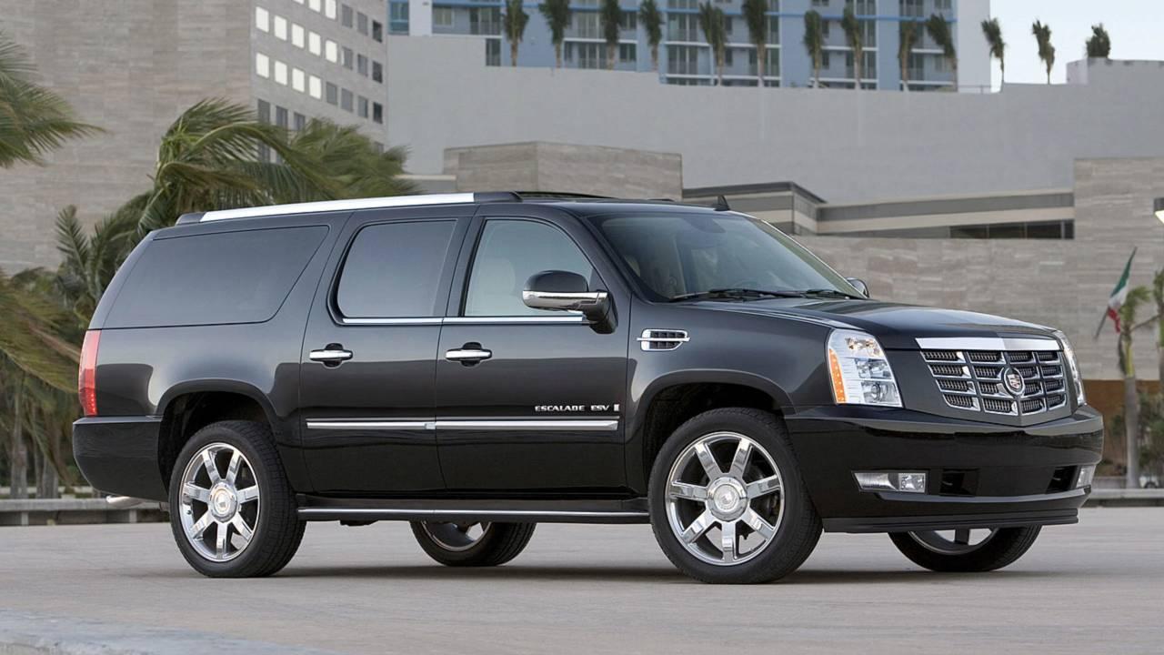 8. Cadillac Escalade ESV –13,257 miles