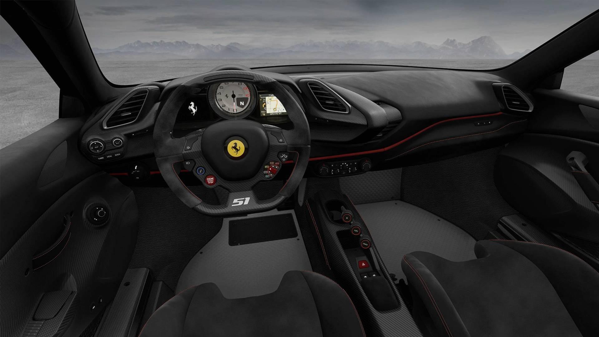 Discover All Four Versions Of The 488 Pista Piloti Ferrari