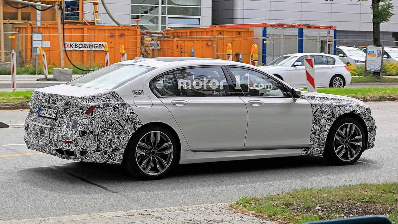 BMW Serie 7 2019 restyling