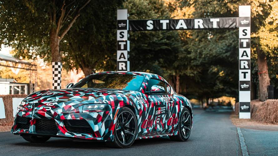 Toyota Supra 2019 en Goodwood