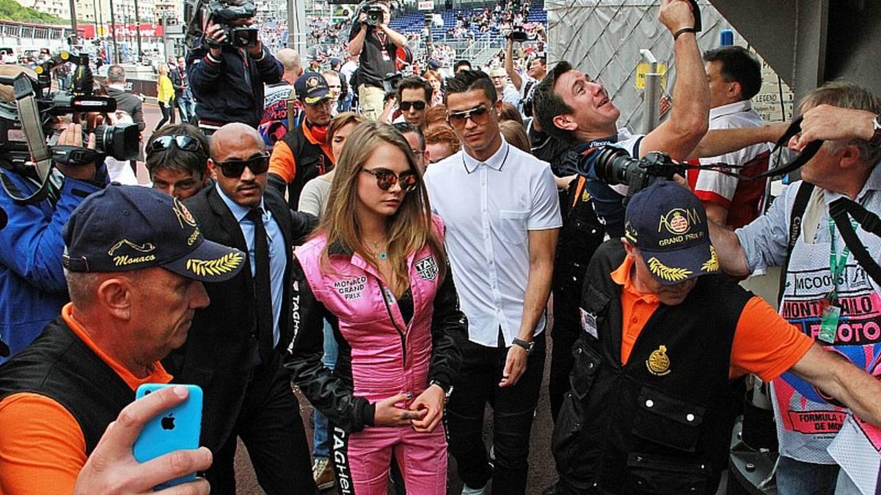 CR7, en el GP de Mónaco 2015