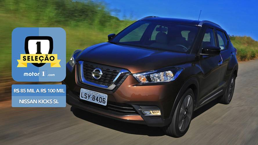 Seleção Motor1.com: Nissan Kicks SL vence categoria de R$ 85 mil a R$ 100 mil