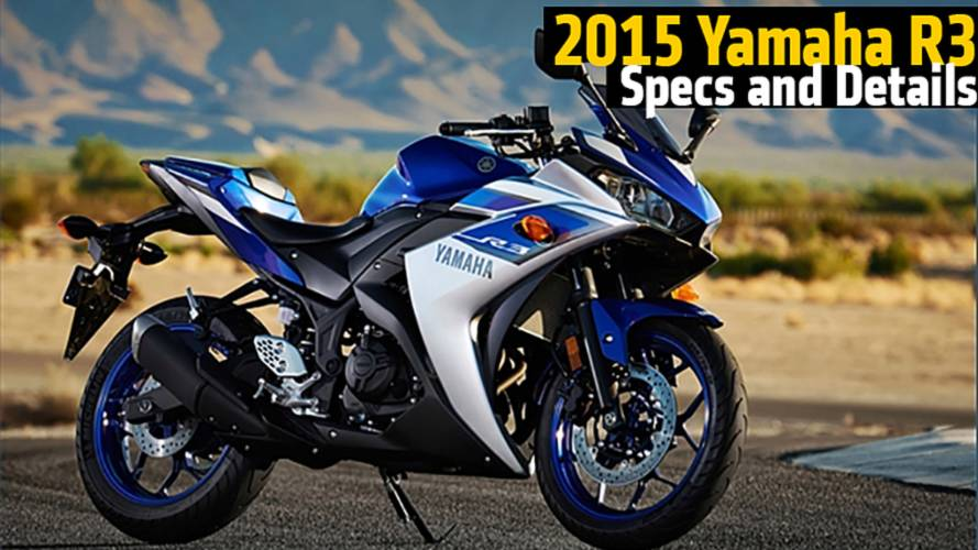 2015 Yamaha R3 Details & First Impressions