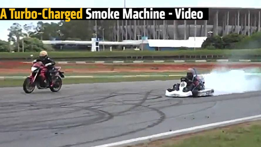 A Turbo-Charged Smoke Machine - Video
