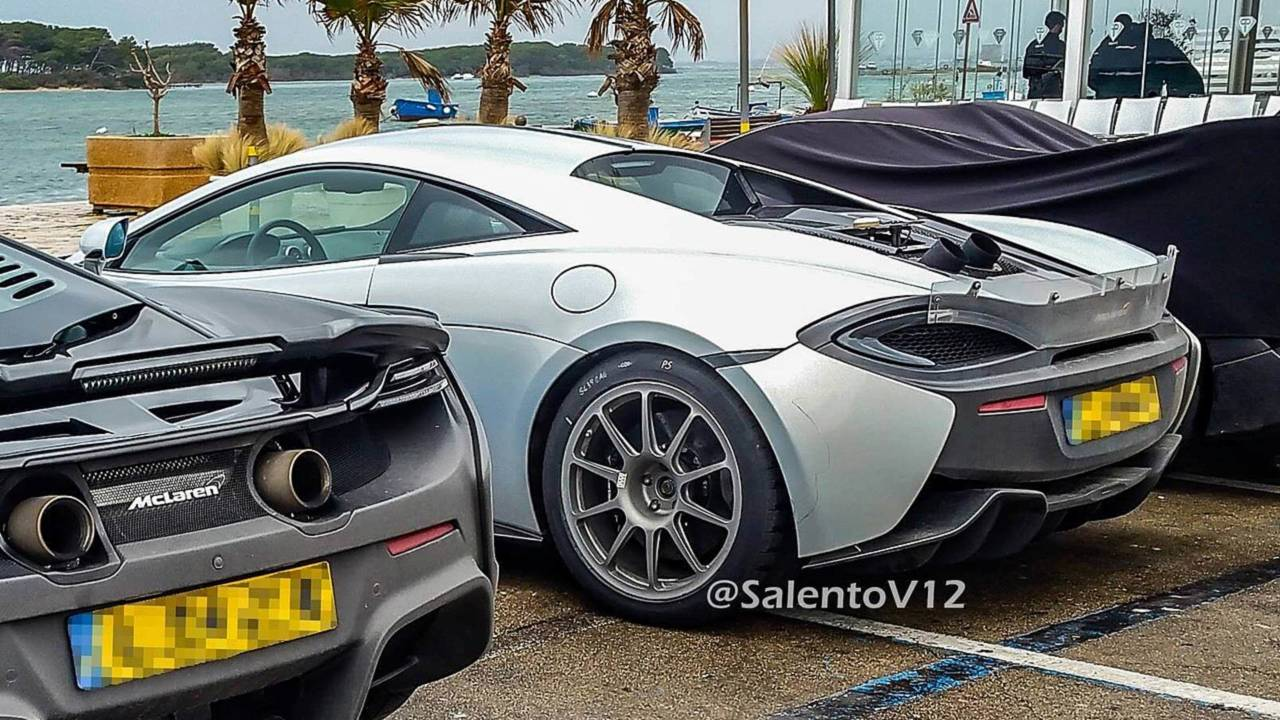 Possible McLaren 600 LT spy photo