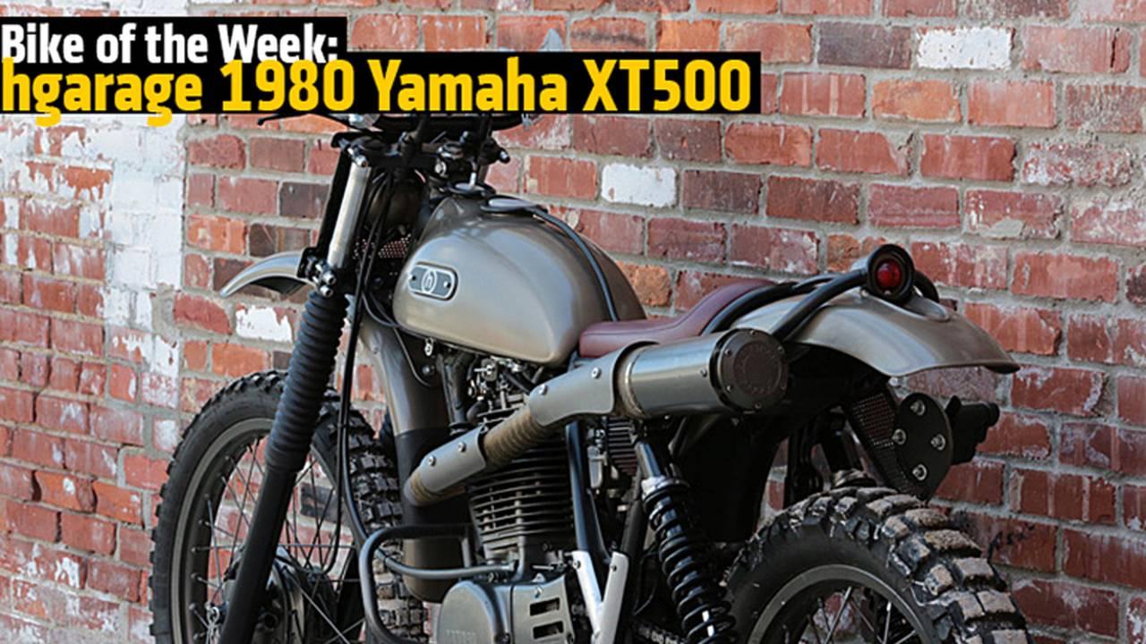 Bike of the Week: hgarage 1980 Yamaha XT500