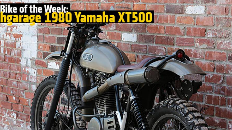 Bike of the Week: hgarage 1980 Yamaha XT500