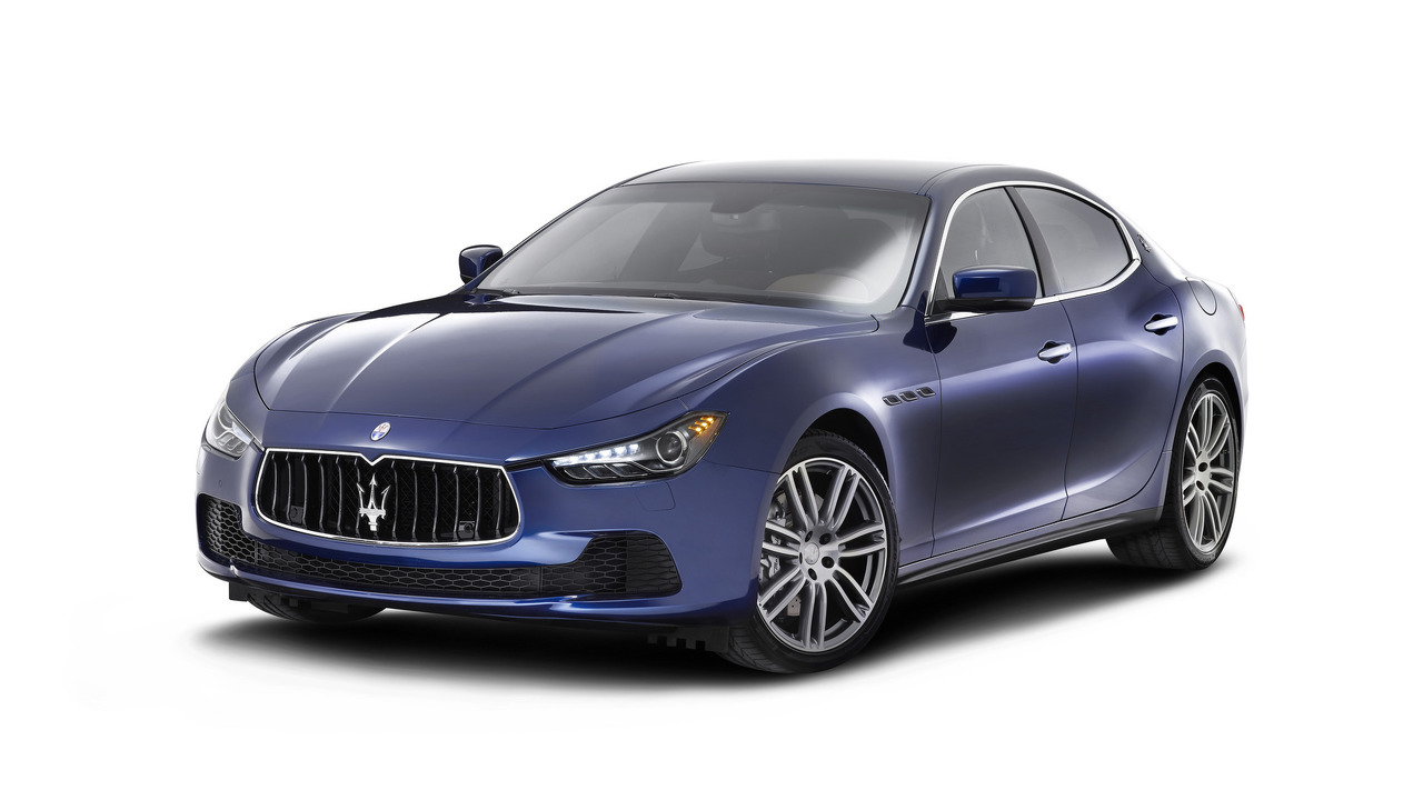 Refreshed Maserati Ghibli