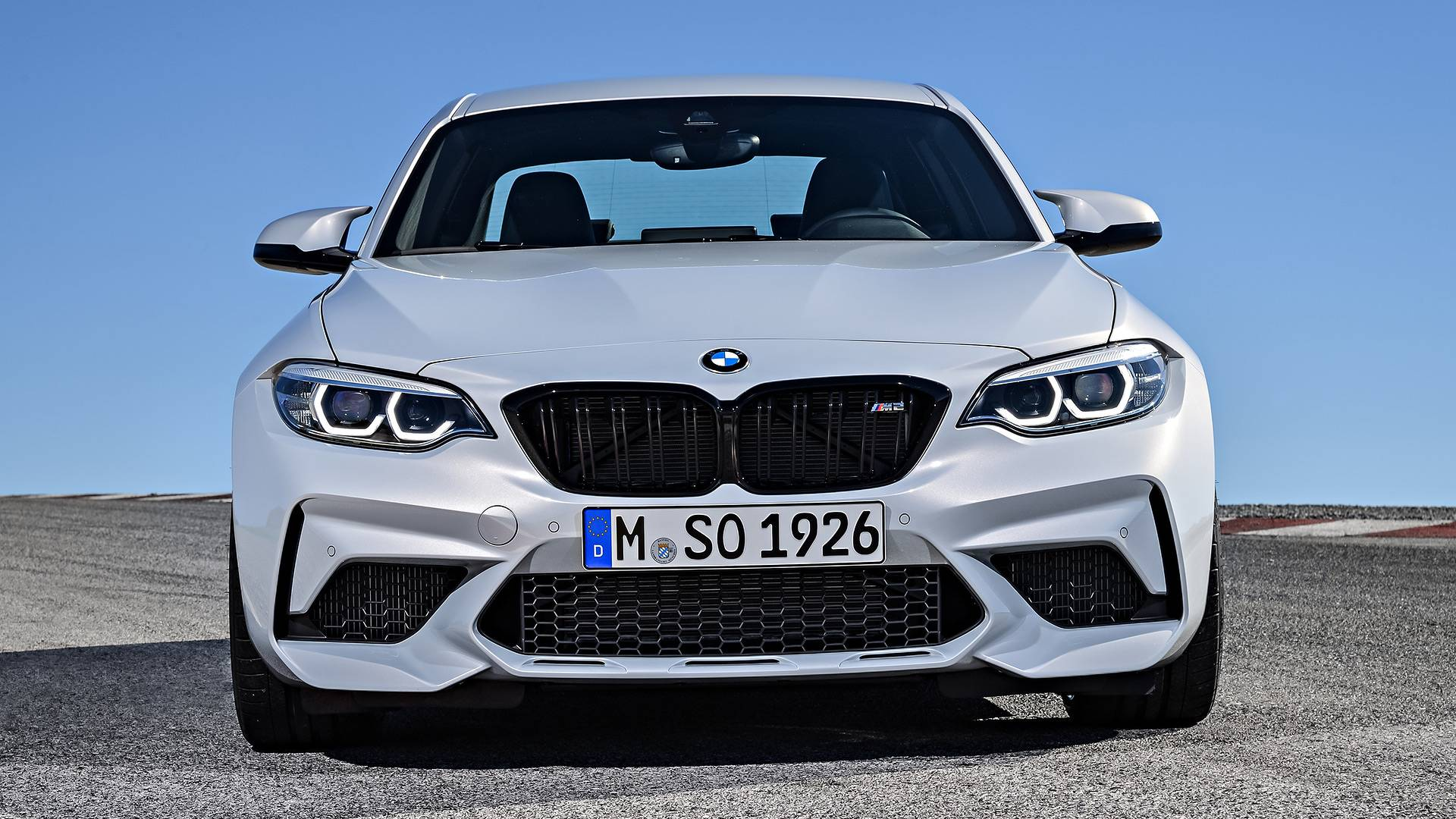 Bmw M2 Competition M4 Competition Duel On Wet Track