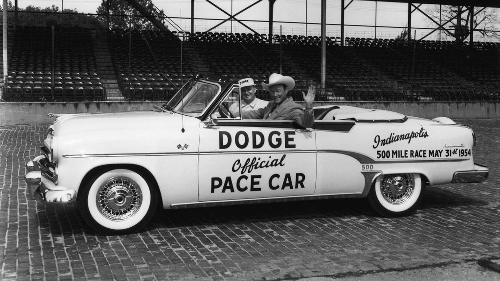 15 Best Indy 500 Pace Cars Of All Time 1954 Ford Thunderbird Convertible