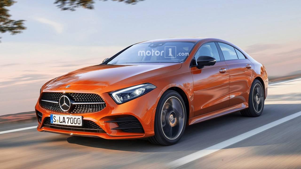 2020 Mercedes CLA Render