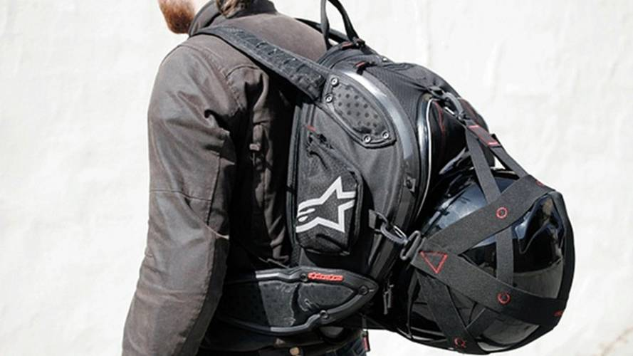 Gear: Alpinestars Protection Backpack