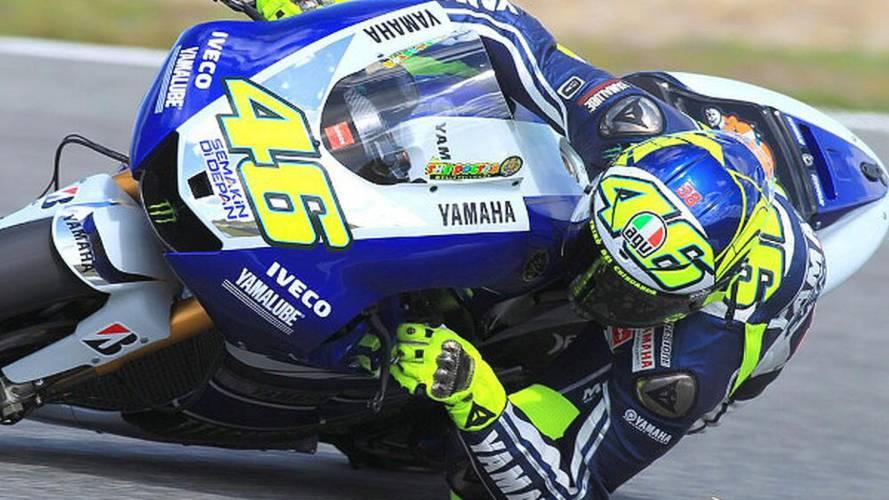 Rossi looking like his old self again