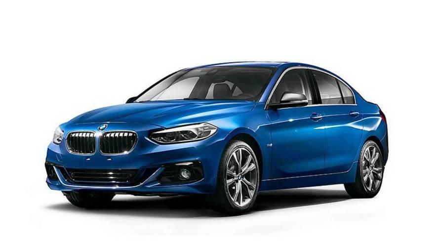 BMW 1 Serisi Sedan, artık sadece Çin'e özel değil