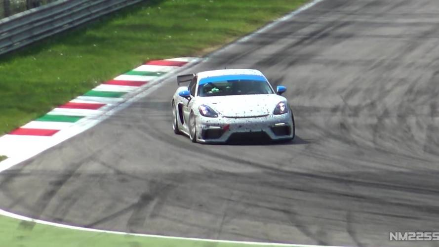 Porsche 718 Cayman GT4 Clubsport Monza'da görüntülendi
