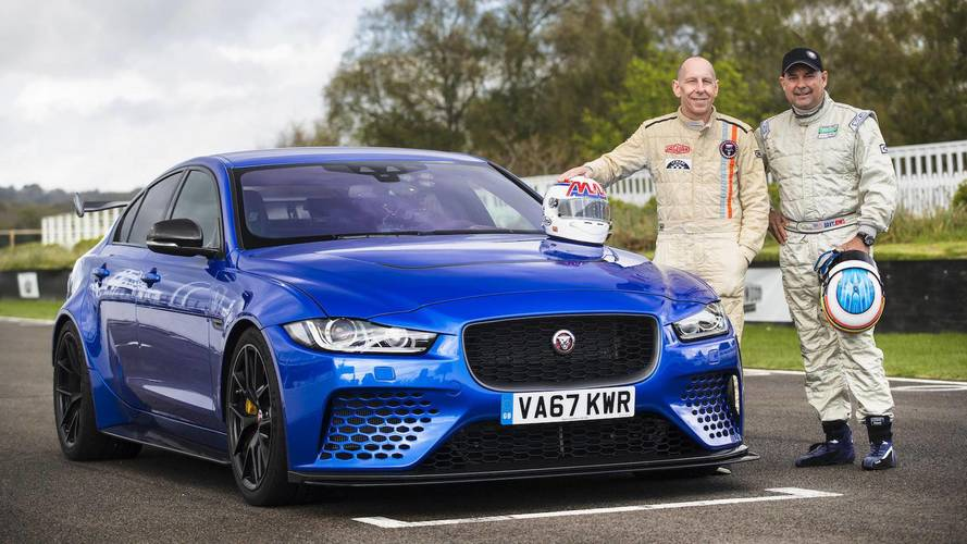 Le Mans Legends Test The Jaguar XE SV Project 8