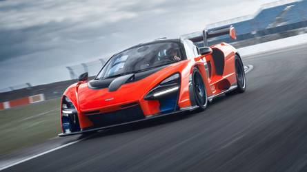 Watch Smoke Pour From McLaren Senna On Fire During
