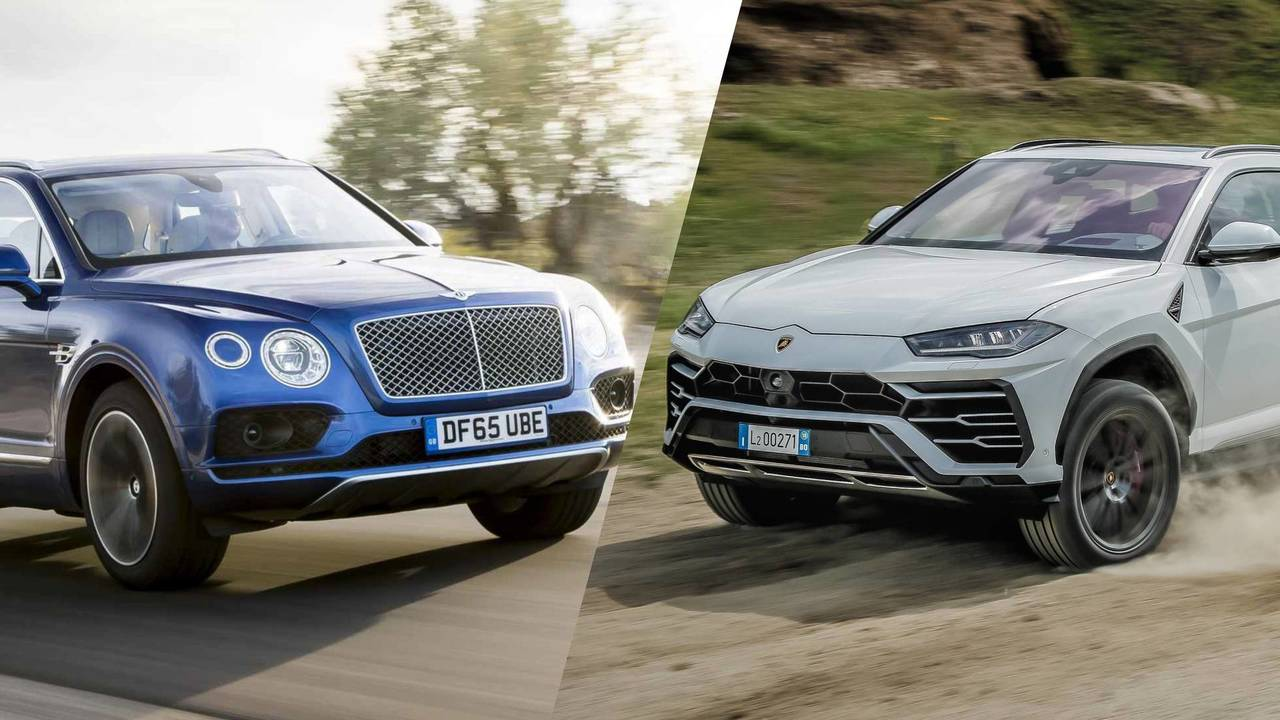 Bentley Bentayga vs Lamborghini Urus