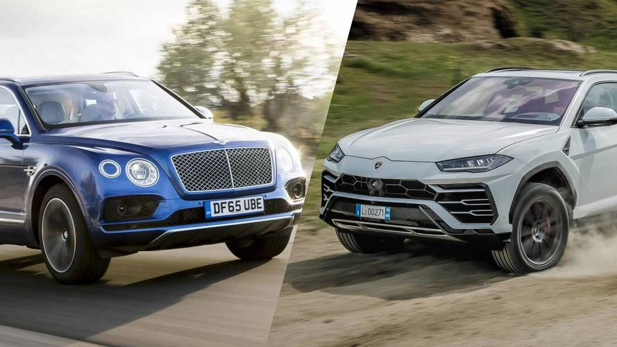 Bentley Bentayga Vs Lamborghini Urus: The Numbers