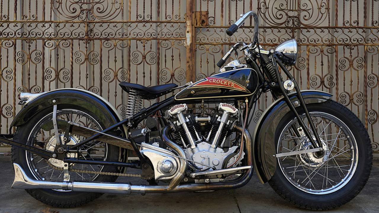 #8 Hemi-Head Crocker V-Twin to be raffled by the Wheels Through Time Museum. Photo courtesy of WTT.