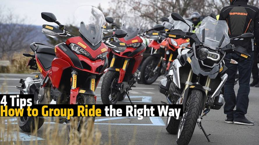 Top 4 Tips on How to Group Ride the Right Way
